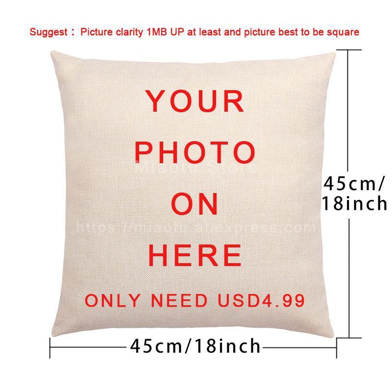 Letra mão listra padrão xadrez sinalização h pillowcase conjunto novo cashmere capa de almofada presente de família natal 45 * 45cm