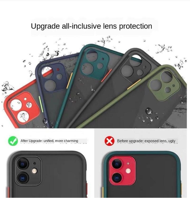 Étui de silicone souple transparent antichoc pour iPhone 12 11 Pro Max x XR XS 8 7 6 6S Plus SE 2020 Case 360 Couverture de protection en silicone