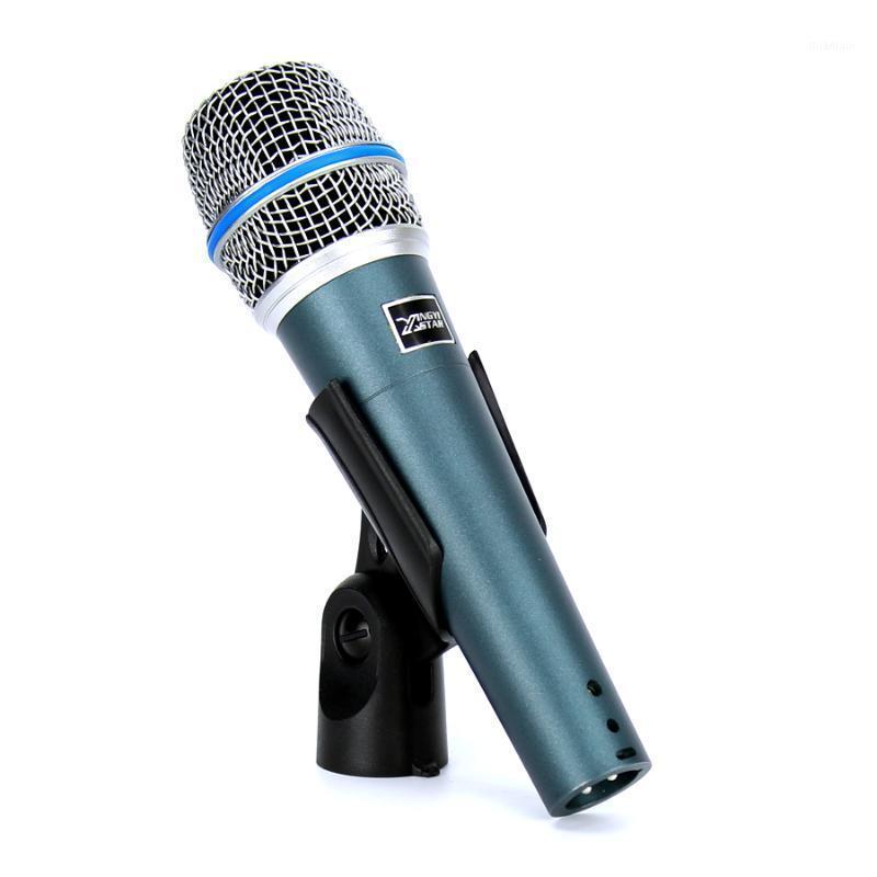 Microfones beta57a microfone com fio Microsoft dinâmico profissional para beta 57 um mixer de áudio de gravação de vídeo Microfono Microfono