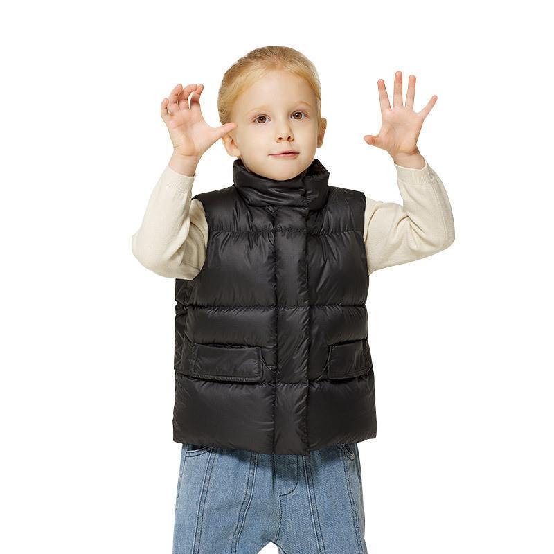 2020 Mode Vêtements Femmes Filles Garçons Vestes bébé Automne et Hiver Vêtements pour enfants Gilet chaud vers le bas