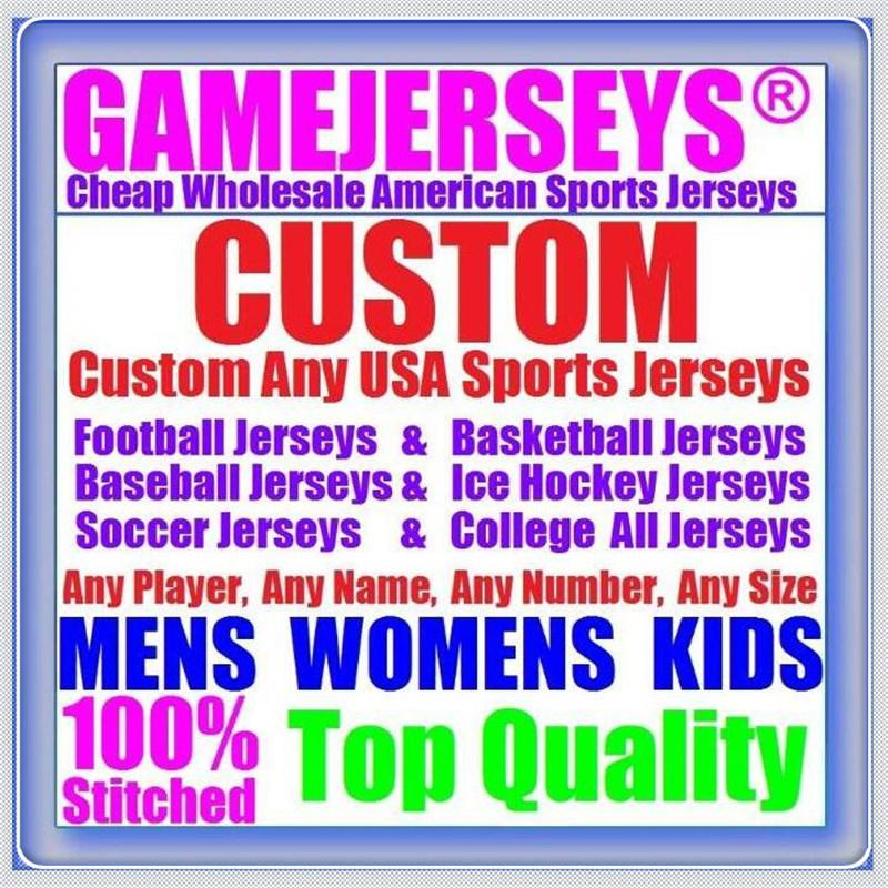 Custom Basketball Béisbol Hockey sobre hielo American Football Jerseys para hombres Mujeres Juventud Color Color Hockey Hockey Fútbol Jersey Equipos 4XL 5XL 6