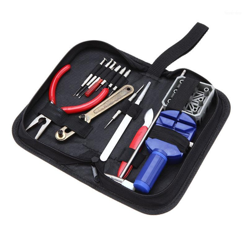 16PCS Guarda il kit di riparazione Set Set cinturino da polso Regolare il kit di strumenti Pin Back Remover Fix Orologi Riparazione strumenti1