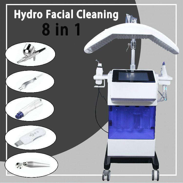 새로운 히드라 페이셜 머신 깊은 클렌징 하이드로 드 형사 흉터 피부 장비 Microdermabrasion 하이드로 기계 클리닉 사용