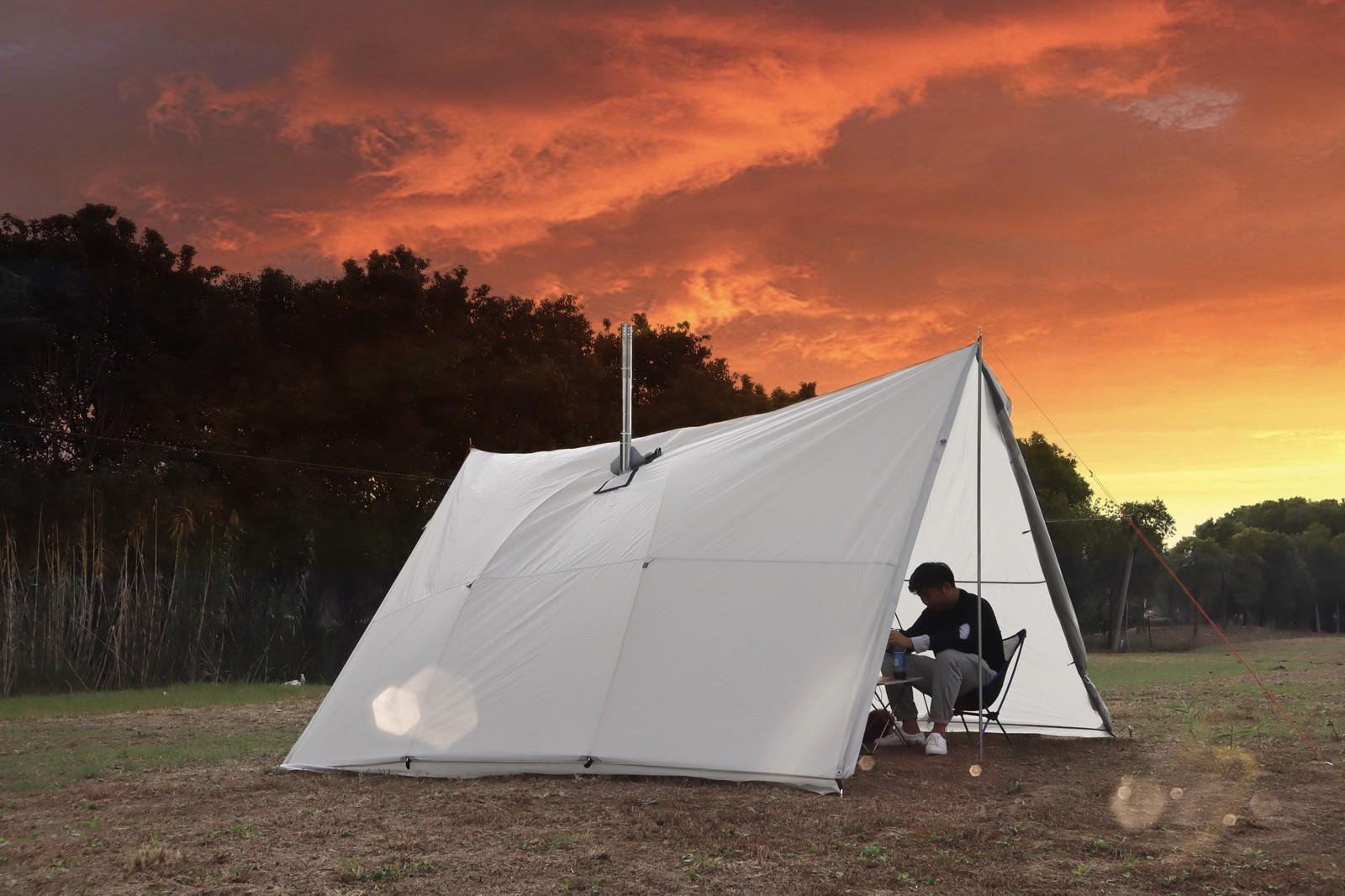 Ultralight Outdoor Camping TeePee Fogão de Lenha Aquecimento Fogão Fogão Tenda Ao Ar Livre Sobrevivência Caminhadas Z1123
