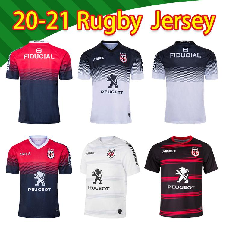 Top Toulouse Munster City Nice Rugby Jerseys 20 21 الصفحة الرئيسية Stade Toolousain 2020 League Jersey Lentulus قميص الترفيه التدريب الرياضي S-5X