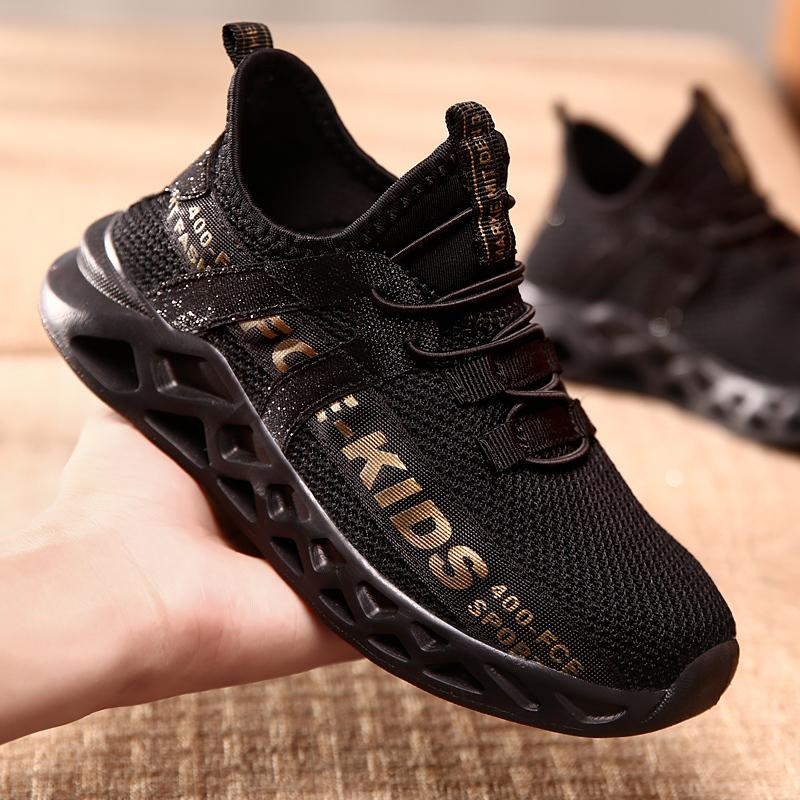 2020 Kid Running Sneakers Children Sport Shoes Tenis Infantil Boy Basket Footwear Lightweight Breathable Girl Chaussure Enfant Y1118