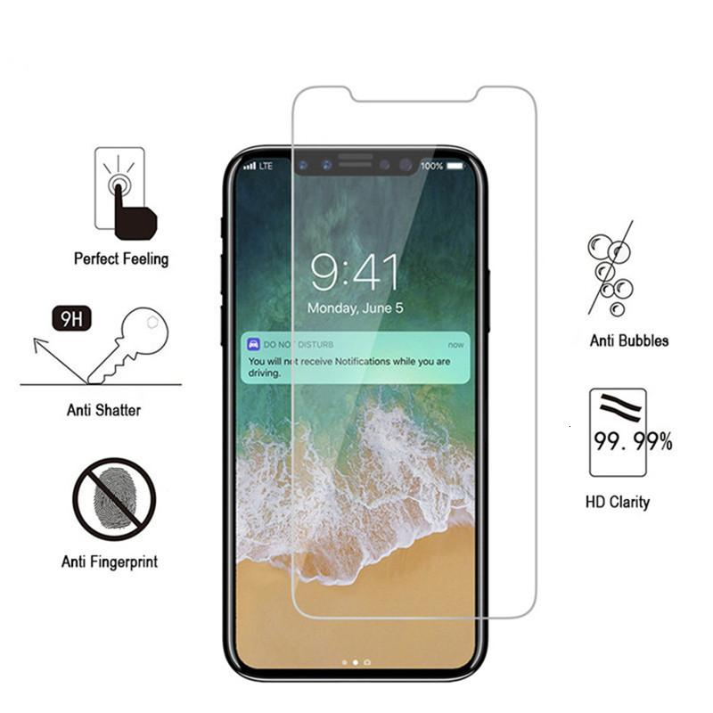 FactoryV7TCMax Tempered XR Glass XS X 8 Screen Protector For phone 7 Plus Film 0.33mm 2.5D 9H Anti-shatter