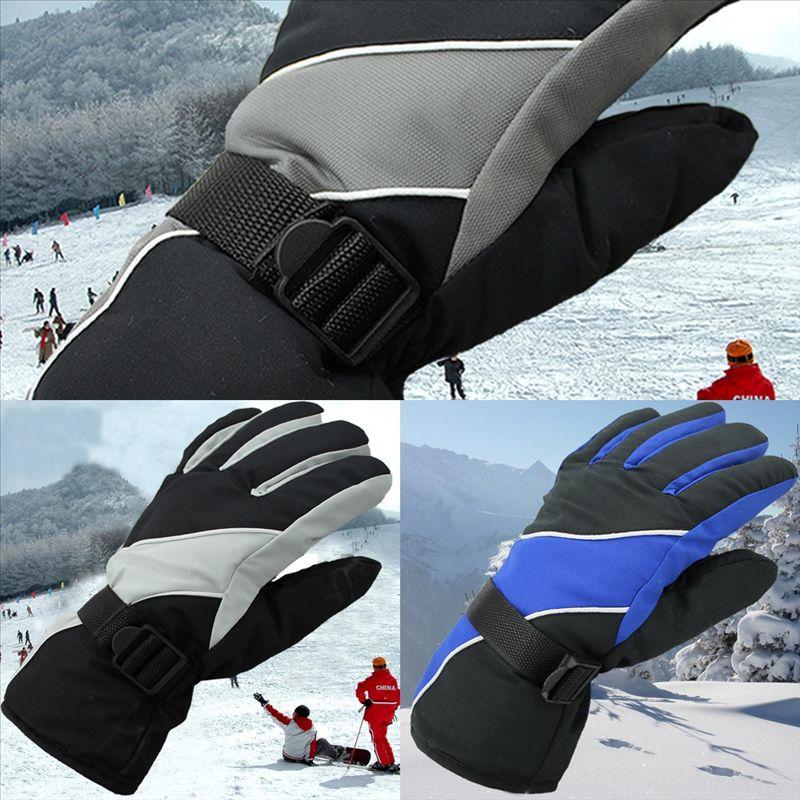 O9VCG Sıcak Kadınlar Kış Gerçek Lüks Fox Kürk Eldiven Yün Kintting Eldivenler Yeni Kayak Kayak Eldiven Kayak Eldiven Kız Kürk Eldiveni Rus Bayan Bilek