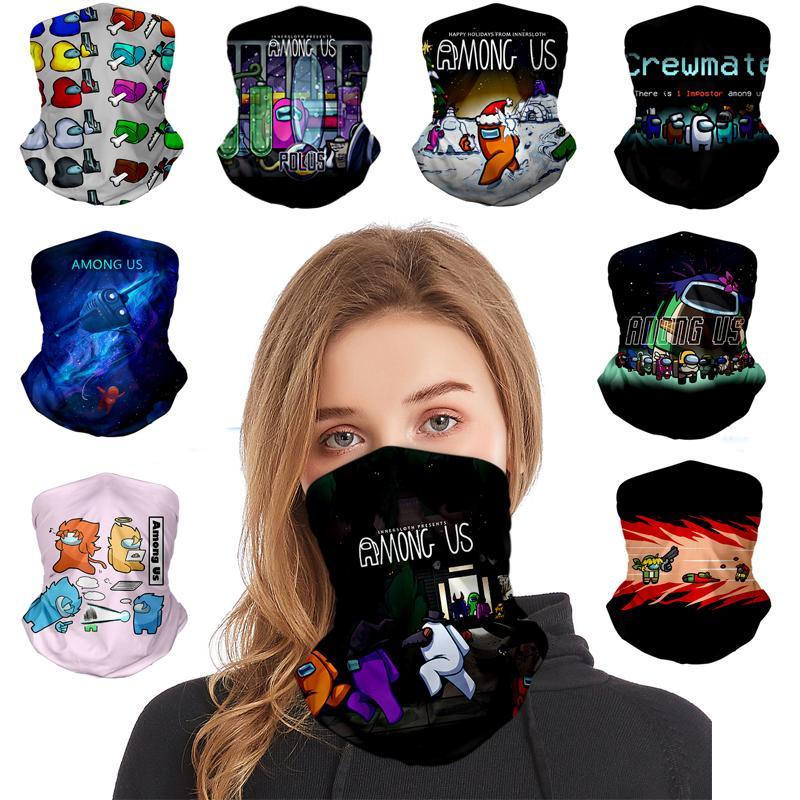Среди США печатание лица маска моющиеся пылезащитные маски наружные велосипедные шеи волшебные велосипедные шарф дизайнерская вечеринка маска