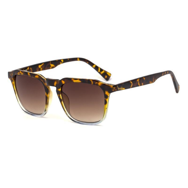 Óculos de sol versáteis coreanos Moda senhora 2020 Nova caixa europeia e americana de óculos de sol