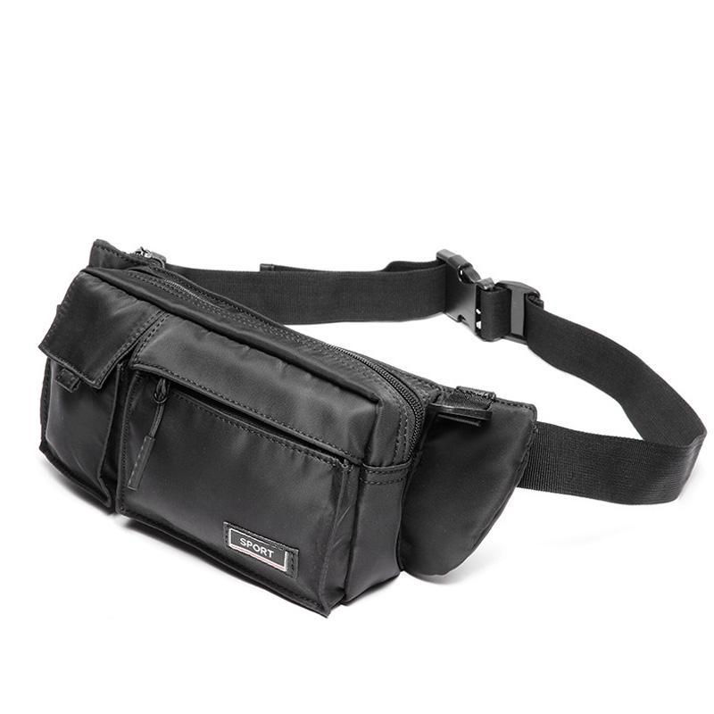 Moda Hombres Bolsa de cintura Mensajero Bolsas de Mensajero Película Teléfono Casual Viaje Crossbody Bolsas de hombro Bolsa de cintura pequeña para hombres 2020