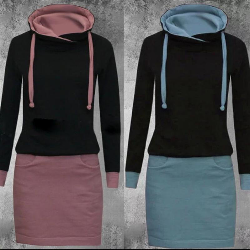 1JZFX Женский 2021 Весна Новый привязанный с капюшоном с капюшоном с длинным рукавом, соответствующий женскому пальто Свитер 2021 Весна Новый привязанный с капюшоном с капюшоном