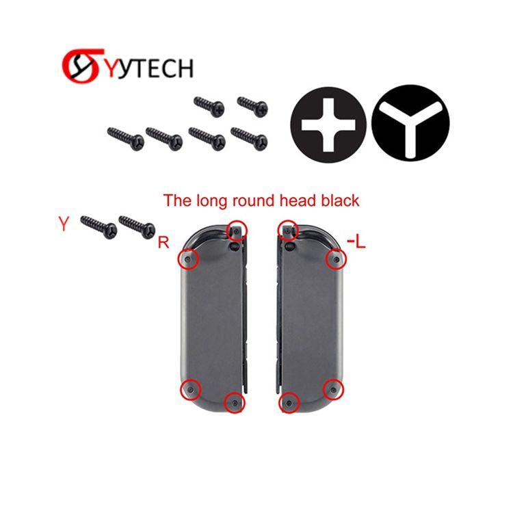 Syytech 6 قطع في 1 استبدال ترايدنت y- برغي فيليبس المسمار مجموعة لنينتندو تبديل وحدة تحكم مكون