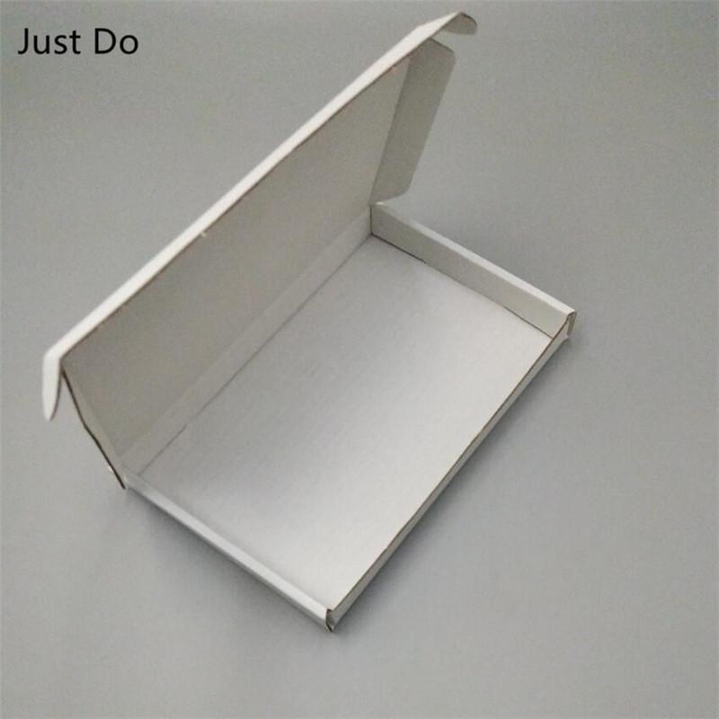 23*10*3cm 50pcs White Corrugated Packing Carton Gift Boxes Shipping Paper Box Corrugated Packing Postal Boxes