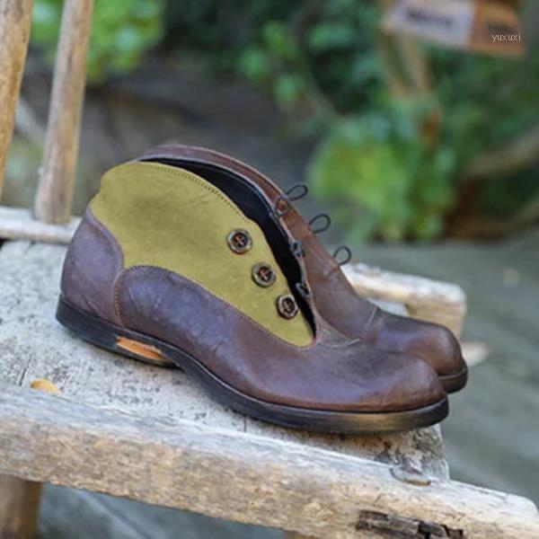 Chaussures rocheuses femmes bottes en caoutchouc rond plat plat plate-forme plateau plat bottes-femmes pluie mi-veau femme midi mollet bas automne 20201