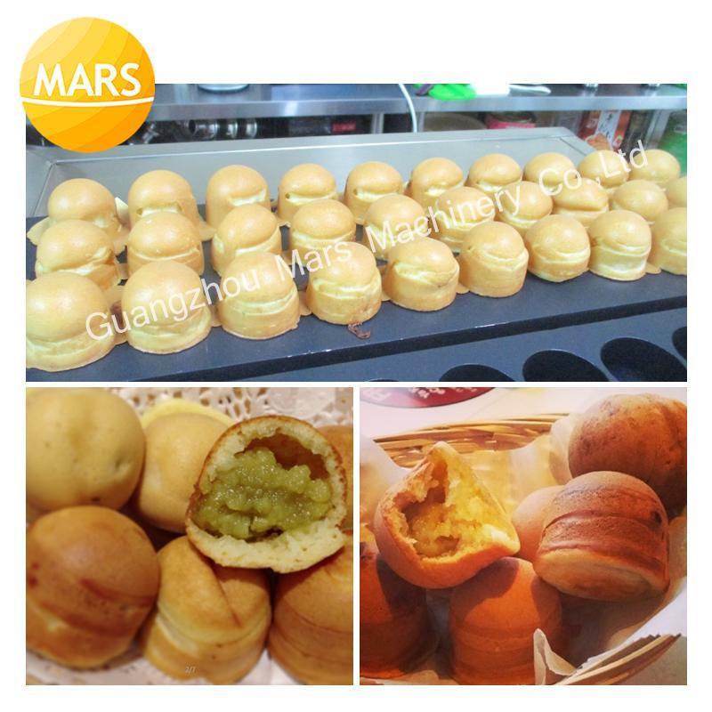 Ekmek Makineleri Ticari Kullanım Yapışmaz 110 V 220 V Elektrikli Malezya Kaya Topu Makinesi Tava Plaka Demir Catering Ekipmanları