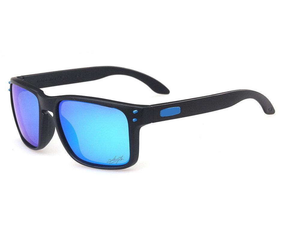 Дизайнер Солнцезащитные очки Мужская Мода Бренд O Волзания Polarized OO9102 Классическая Ультрафиолетовая Защита Открытый Спортивные Солнцезащитные Освещения