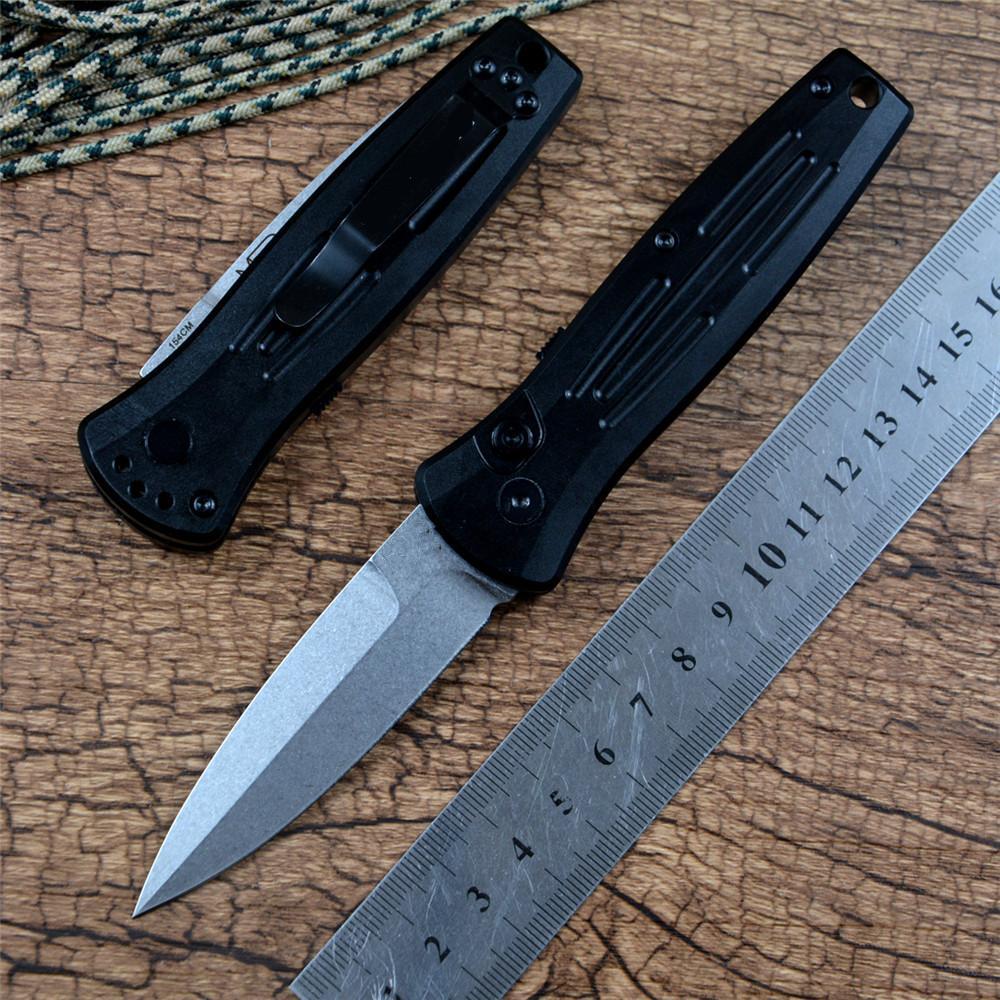 Stimolo Coltello BM 3551 Automatico Auto EDC Tactical Survival Pocket Knife 154cm Blade T6061 Maniglia in alluminio