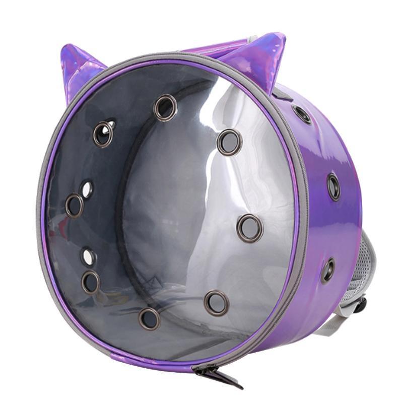 Собака Путешествия Сумка Coast Cal Cal Cale Котенок Cat Дышащий Cat Прозрачный Рюкзак Портативный Носите Pet Комфортабельный ПЭТ поставляет LXQXF