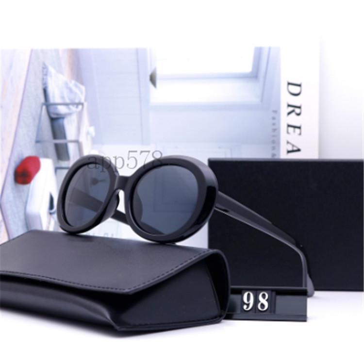 2020 Yeni Moda Avrupa ve Amerikan Klasik Web Ünlü Sokak Güneş Gözlüğü Polarize Gözlük Sürüş Plaj 98 Wholsale