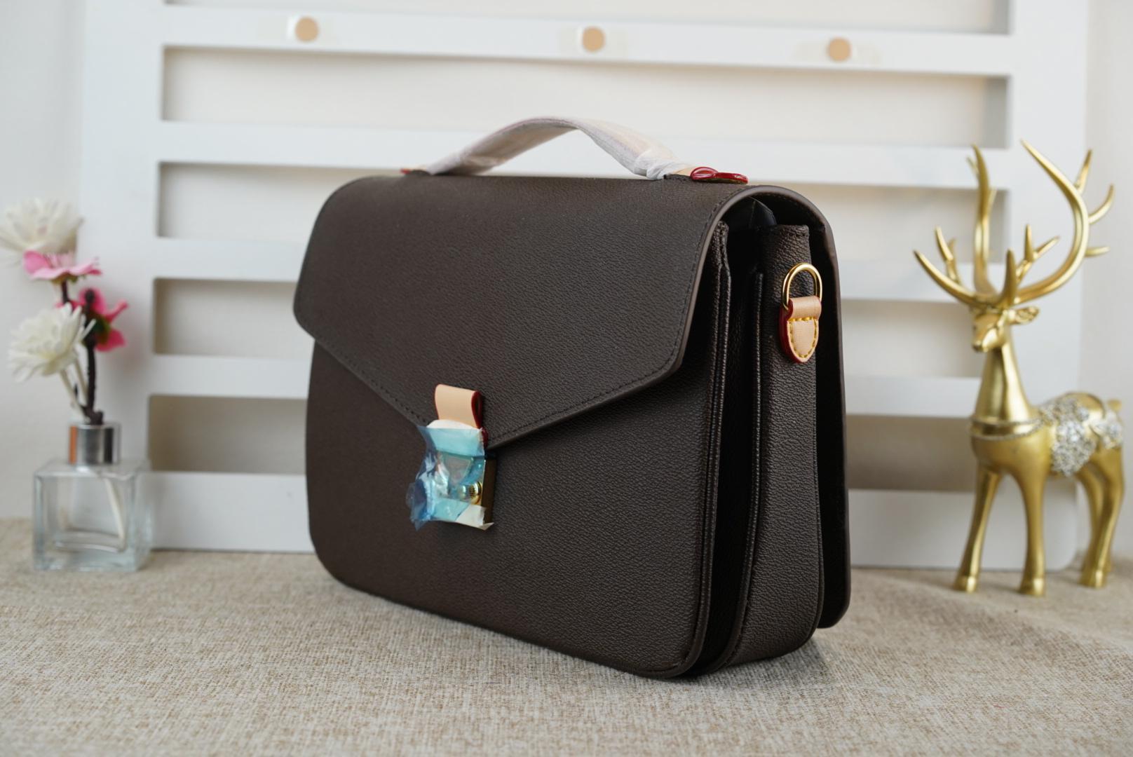 Bolsa de ombro mulher venda de alta qualidade Metis bolsa de couro genuíno alça 996 desenhista handbgs bolsa clássico impressão moda em relevo 780 quente