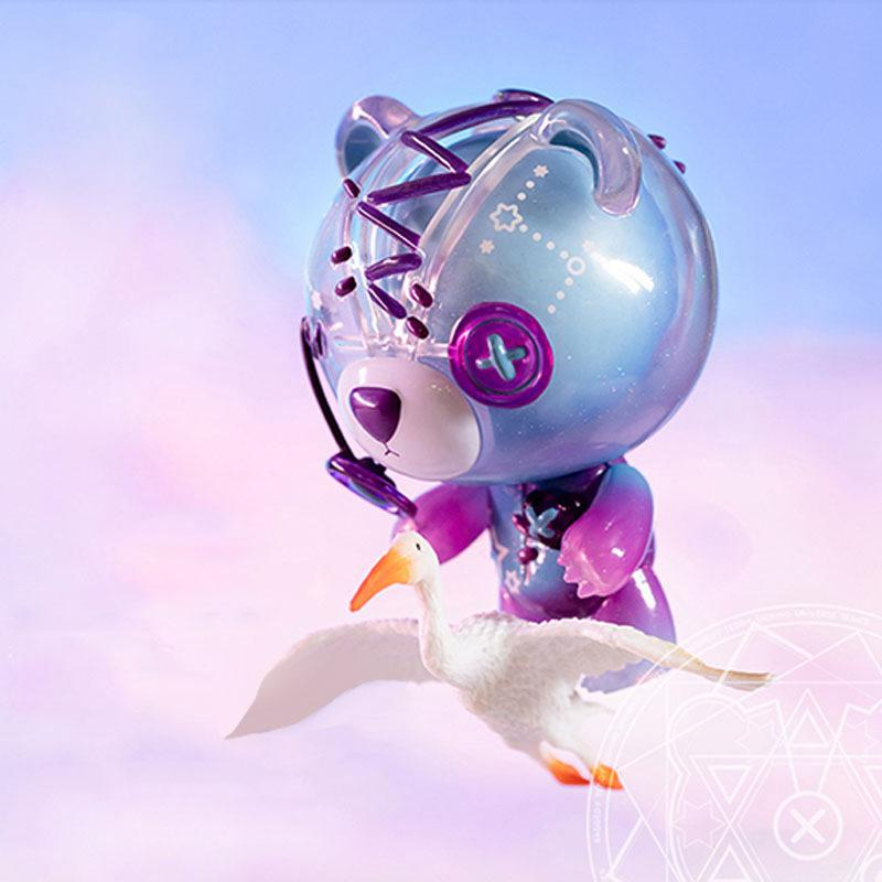 Aven Rabbit Tear Bear Blind Box 4 Generation Cosmos Series Girl Birthday Gift Car Decoration Cute Gifts Doll Action Toy Figures LJ201031