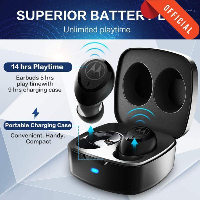 MotorolaVervebuds 100 Bluetooth Wireless Kopfhörer mit MIC Bass Stereo AAC SBC Earmud Funkkopfhörer Sprachkontrolle1