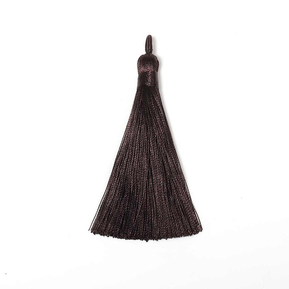 10pcs 8 9cm Silk Tread Tassel Brush For Diy Jewelry Making Undefined Tassel Fringe Earring Pendant Components Handmade Craft H jllWZo
