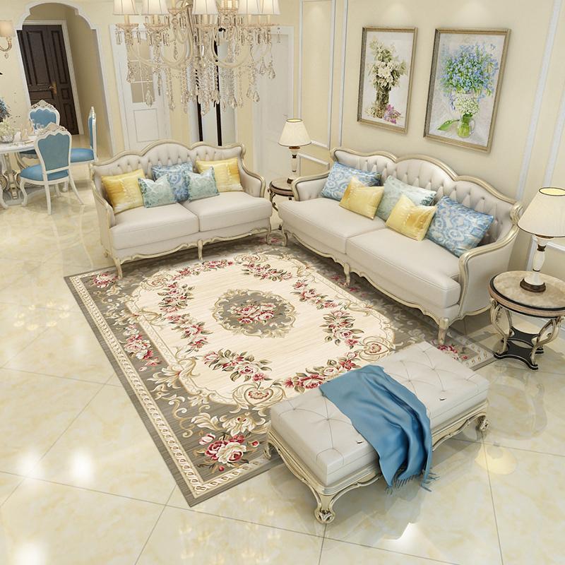 Tapetes tapetes, sala de estar, norte da Europa, mesa de café cobertor, quarto em casa, American Bedside Grande customization