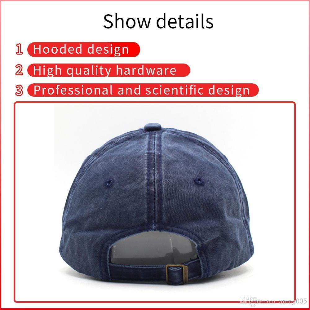 Meilleure nuance Nouvelle mode Casquettes de baseball imprimée Vintage All-Match Custom Custom Sun Chapeaux Simple Diy Design Couleur Solide Couleur Hip Hop Visors MBQ0017