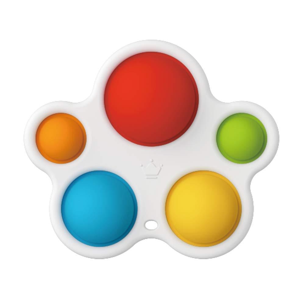 Dimple Fidget Popper Brinquedos, empurrar Pop Fidget Silicone Sensory Toys, Infantil Educação Início Atenção Aprendizagem Brinquedos