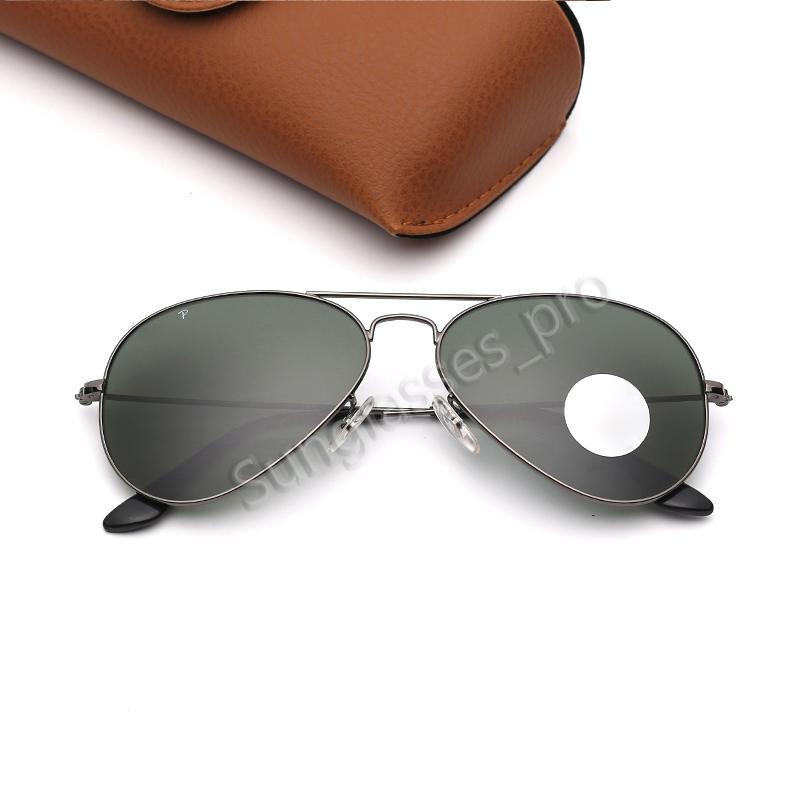 Очки Солнцезащитные очки Пилотные линзы Солнцезащитные очки Поляризованные Вождение Мода Солнечные Очки Черная Женщина Рамка Поляризованные Очки Eflck