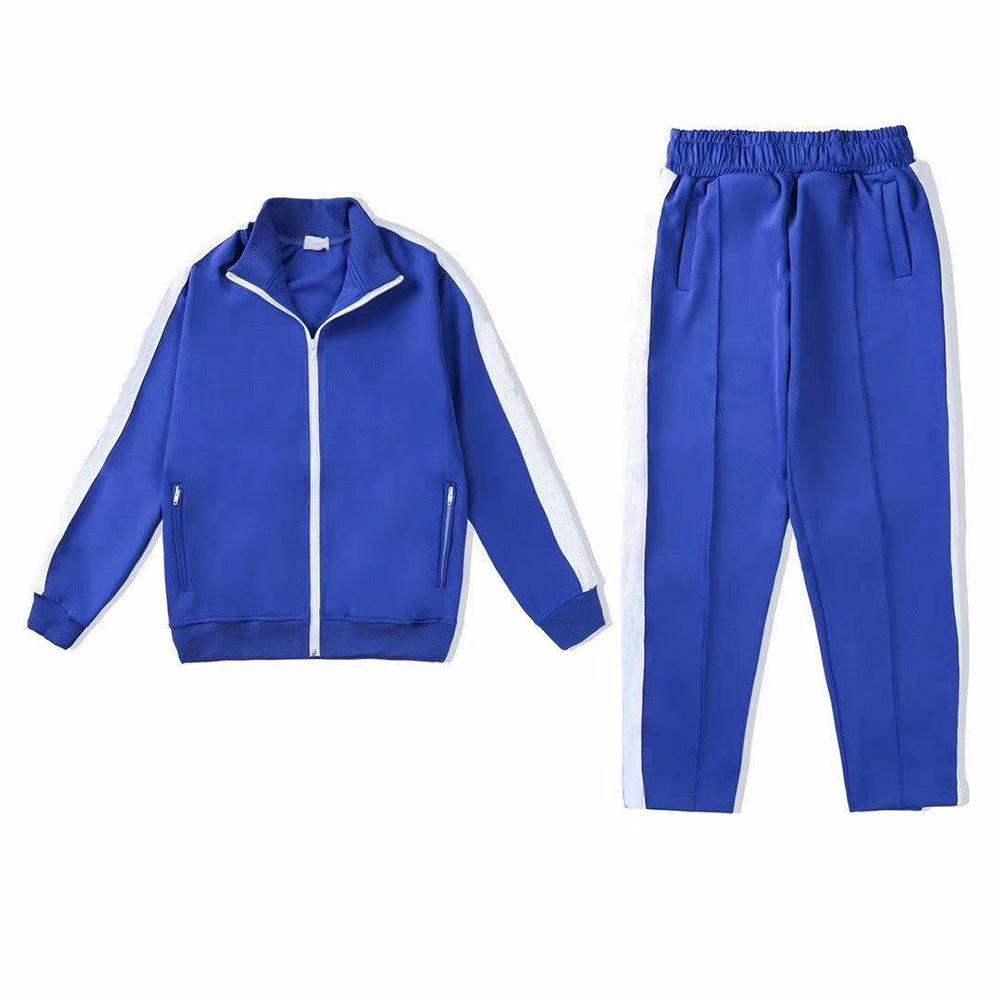 angel Herren Trainingsanzüge Herbst Winter 2 Zweiteilige Trainingsanzüge Solide Reißverschluss Jacke Hoodies Leggings Hosen Jogger Bodysuit Sportswear Womens Anzüge OIW6L