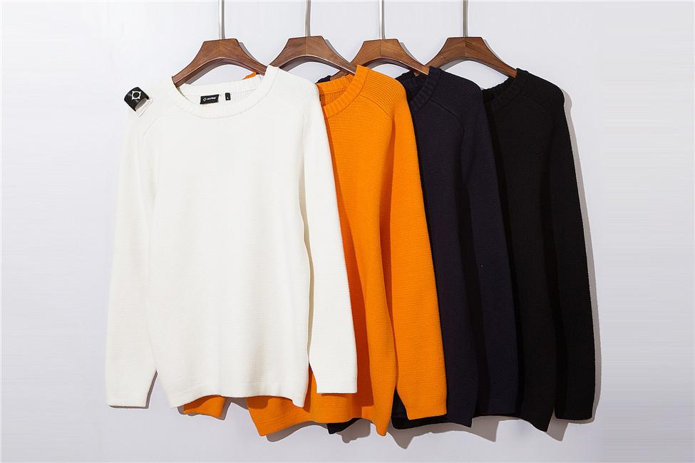 Mode-Homme Ma.Strum Pulls Pulls Sweater Hommes Couleur O-Couillé Pulls occasionnels Mens Long Pullovers célèbres Pull de marque célèbre