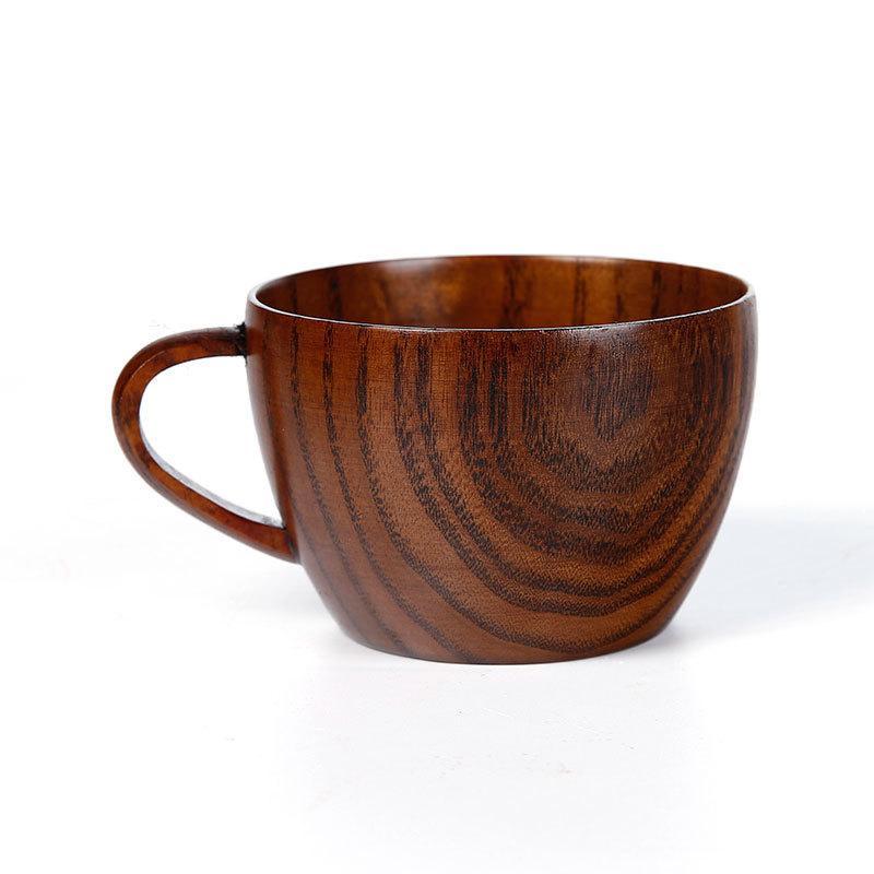 Wooden Cup Wood Coffee Tea Beer wine Juice Milk Water Mug Handmade business Gift Drinking Cup BEF3409