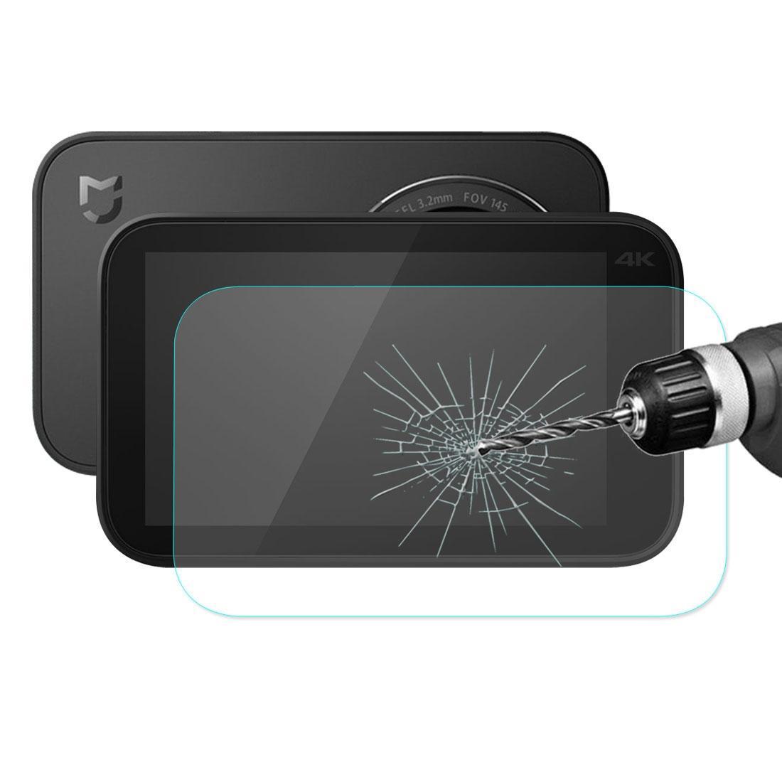 Enkay Hat-Prens Xiaomi için Mijia Küçük Kamera 026mm 9 H sertlik 25D Kavisli Patlamaya dayanıklı Temperli Cam Ekran Koruyucu