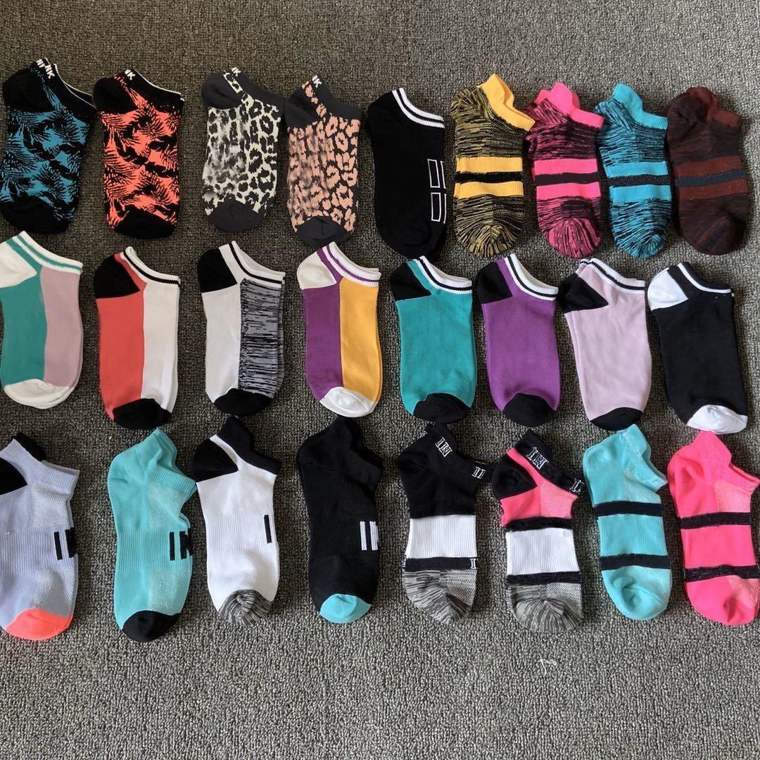 Frauen Knöchelsocken Sport Kurze Elite Socke Unisex Baumwolle Sport Socken Rosa Skateboard Sneaker Strümpfe Basketball Socken