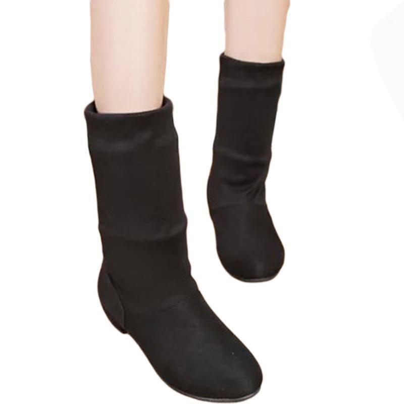 GAOKE 2021 autumn winter women boots scrub women's boots shoes fashion ankle comfortable women shoes free shipping1
