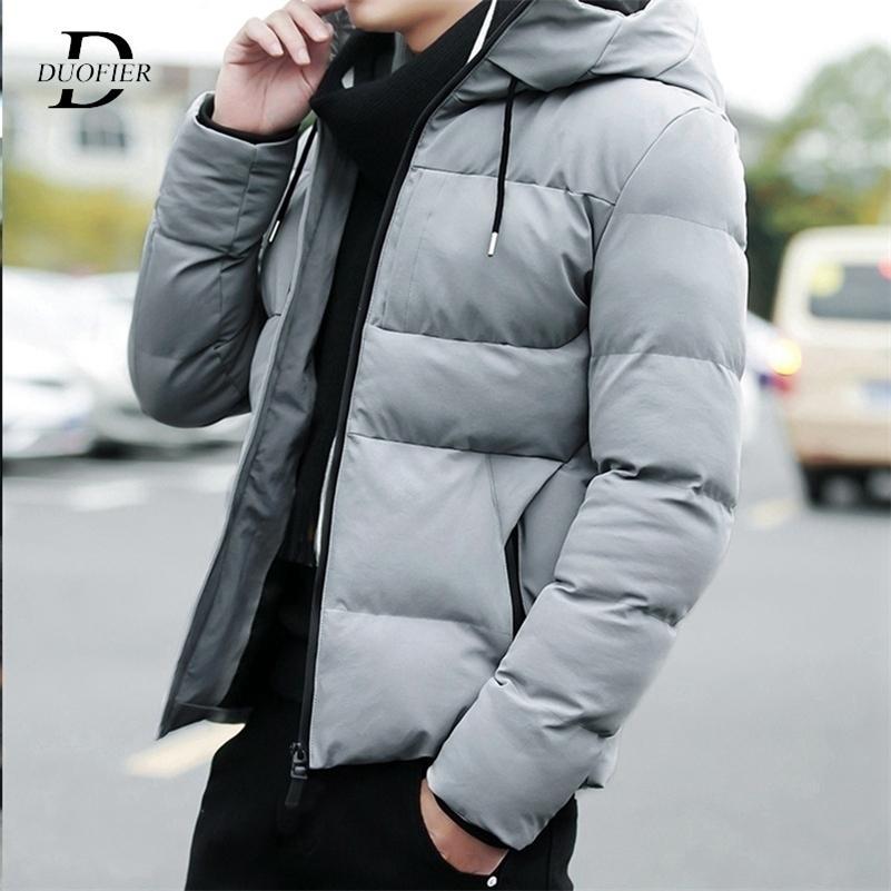 Зимние мужчины Parkas теплая 2020 повседневная мужская утолщение пальто водонепроницаемые куртки с капюшоном на молнии на молнии мужская одежда Jaquea Masculina LJ201215