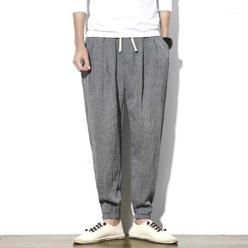 Pantalon de Jogger Harem Coton Homme Harem Mâle Homme Homme Élastique Taille Santé 5XL 5XL1