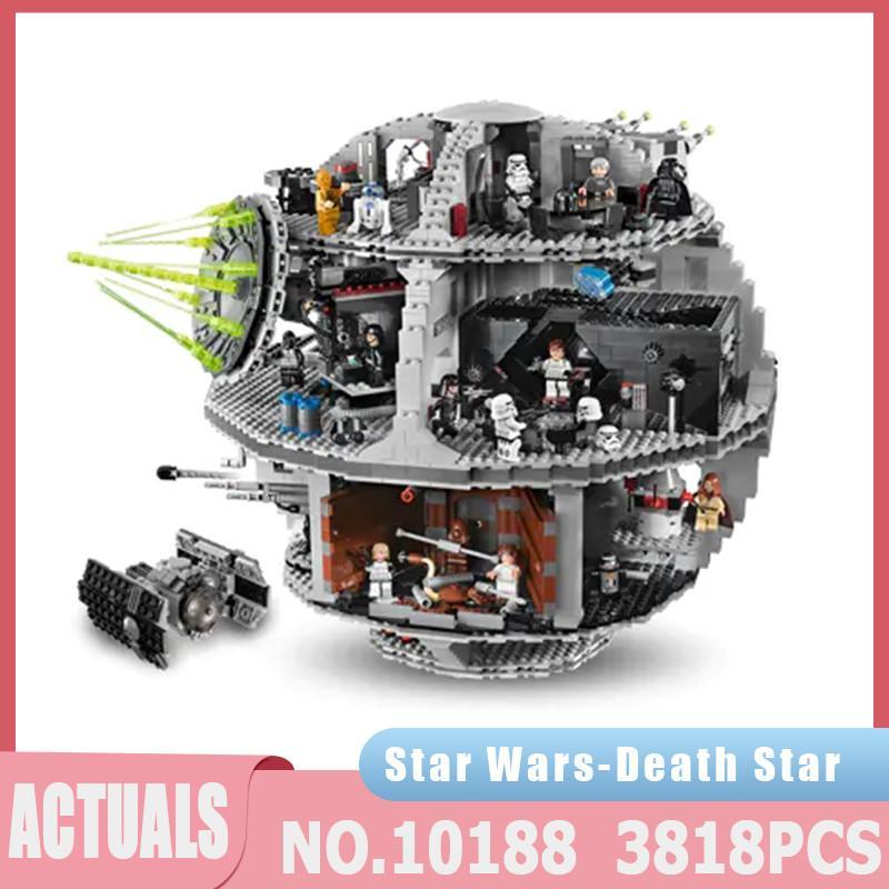 Star Plan Series Death TIE Fighter Compatible 05035 3813PCS Building Blocks Bricks Educational Toys Kids Children Toys Gifts J1204