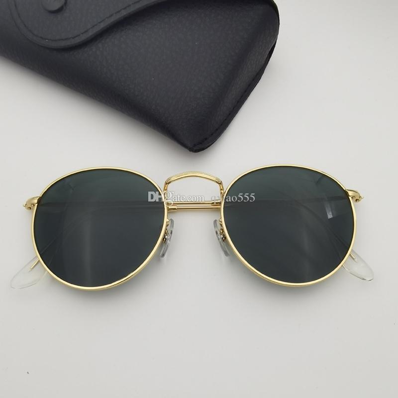Metallglasrahmen inklusive Männer Moderne Sonnenbrille Fahrer Frauen Accessoires Objektiv Gafas de Sunglasses de Sol Box Diss? AOR UXNJC