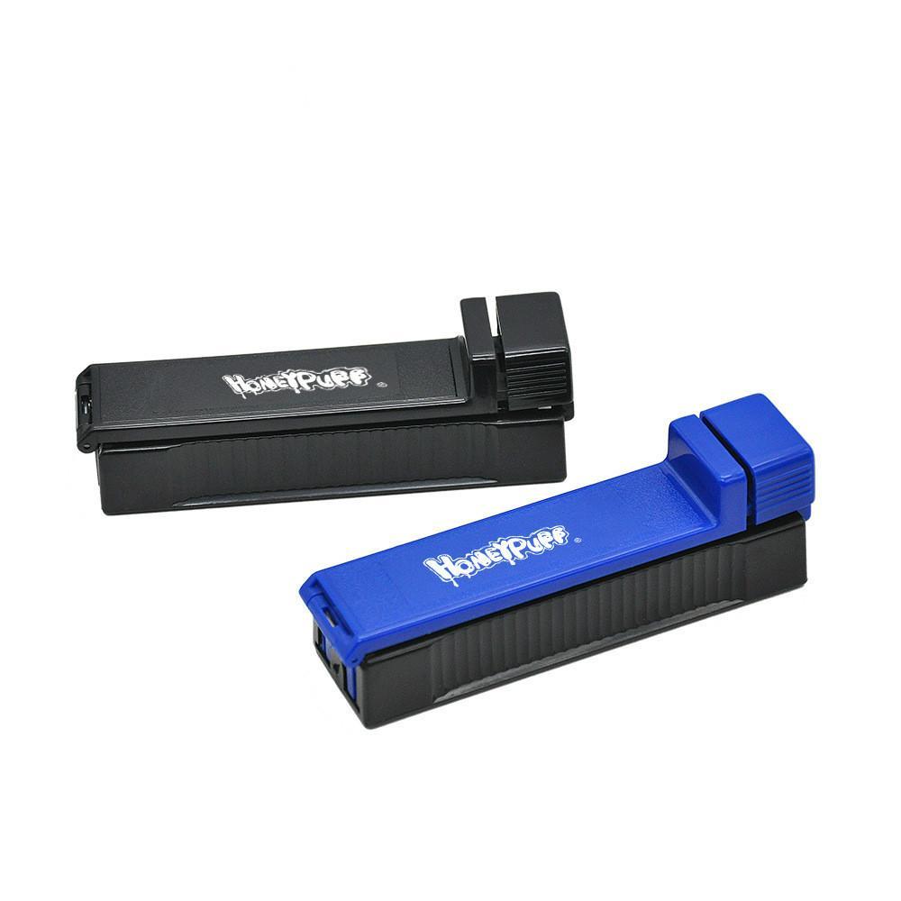 110mm Papiere Kunststoff Manuelle Rollmaschine Tabakrolle King Größe Rauchen Zubehör Zigarette Rolling Kegel Papier Tragbare Rauchspeive