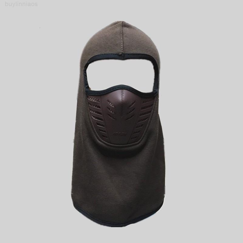 Caldo all'aperto Autumn Face e Keep Winter Full Wool Hat Mask Cycling Antivento antivento Masked Cap Man Donne da equitazione Cappelli 9 5WJ WW