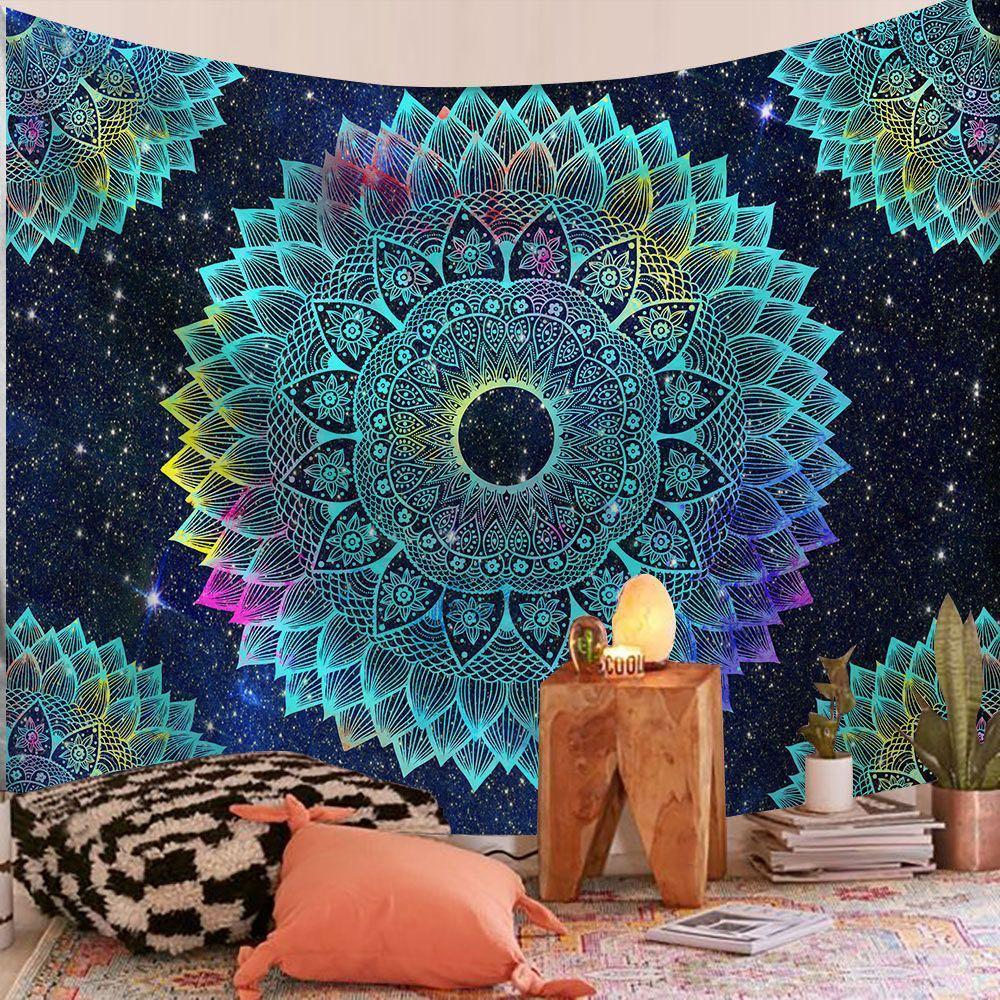 200 * 150 cm indien mandala tapestry wand hängen sonne moon tarot wand tapecry wand himmel teppich psychedelic tapiz hexage kunst dekoration
