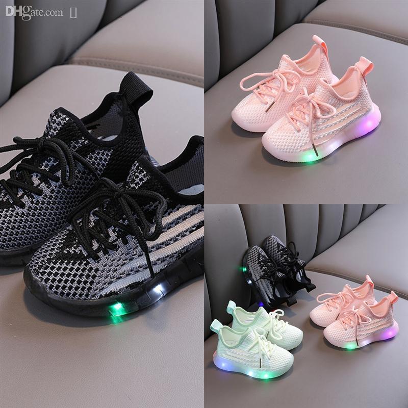 Bebek Kız Çocuk Erkek Nefes Basketbol Işık Sneaker Tasarımcı Ayakkabı Wudao Çocuk Güz Run Ayakkabı Atletik Ayakkabı Casual Spor Nefesli