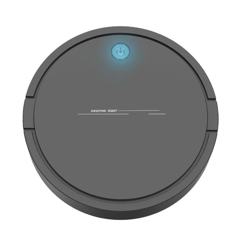 Творческий автоматический подметающий робот Вакуумный очиститель USB зарядки беспроводной вакуумный очиститель беспроводных роботов роботов черный