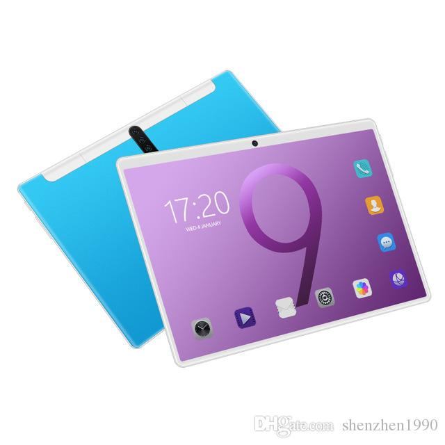 New 2.5D Tablet Pc 10.1 inch Android 9.0 real 2GB RAM+32GB ROM Tablets Octa Core Play 3g 4g LTE Phone Call GPS WiFi Bluetooth