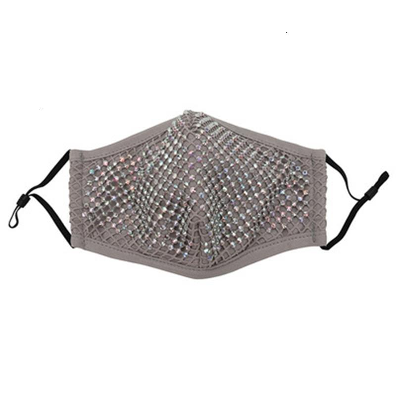 Maschere di fabbrica Designer Reusable Hot Traspibile Diamond Diamond Apology Maschera antipolvere Lavabile con PM2.5 Puntelli a stadio filtro PM2.5 in Cos 4 RhRJV