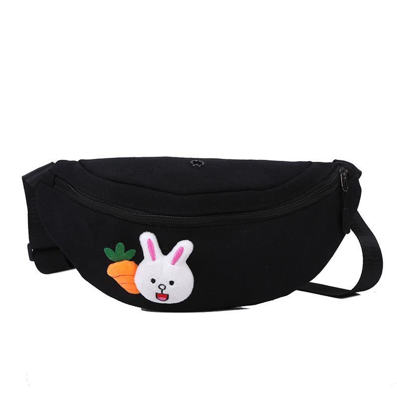 Conejo Cross Bag 2020 Mujeres para hombre Cuerpo para mujer Lindo Bombag Muchacha Cinturón Moda Sac Banane Bag Cintura Gnubb Oclif